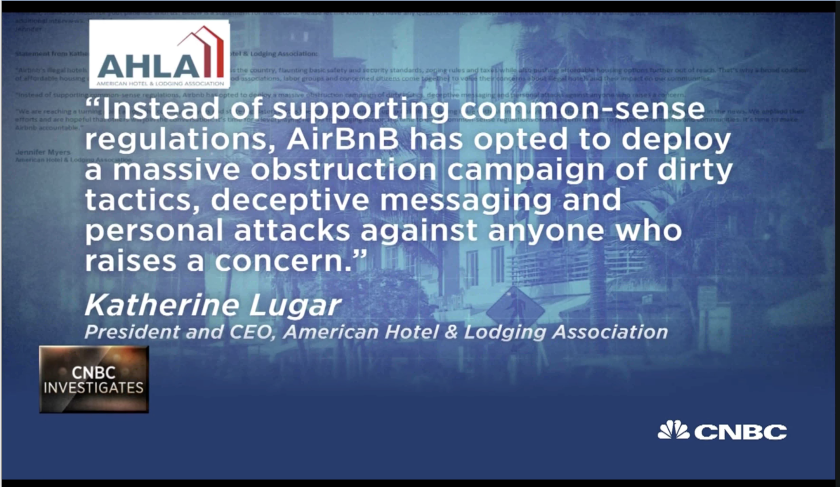 CNBC American Hotel Assoc quote